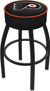 Philadelphia Flyer Orn NHL Blk or Chrome Bar Stool