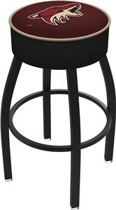 Phoenix Coyotes NHL Blk or Chrome Bar Stool