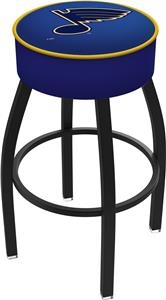 St Louis Blues NHL Blk or Chrome Bar Stool