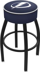 Tampa Bay Lightning NHL Blk or Chrome Bar Stool