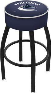 Vancouver Canucks NHL Blk or Chrome Bar Stool