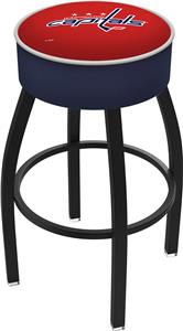 Washington Capitals NHL Blk or Chrome Bar Stool