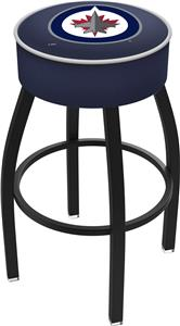 Winnipeg Jets NHL Blk or Chrome Bar Stool