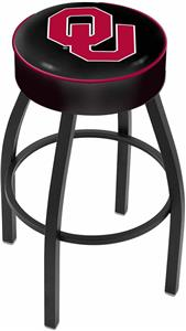 Holland Oklahoma University Blk Bar Stool