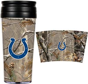 NFL Indianapolis Colts Realtree Travel Tumbler