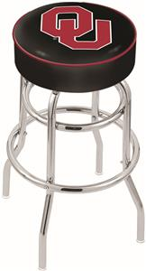 Holland Oklahoma University Double-Ring Bar Stool