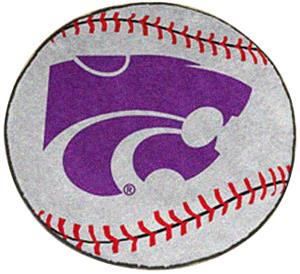 Fan Mats Kansas State University Baseball Mat