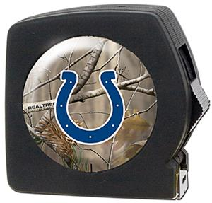 NFL Indianapolis Colts 25' RealTree Tape Measure