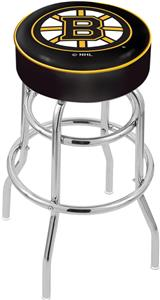 Boston Bruins NHL Double-Ring Bar Stool