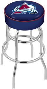 Colorado Avalanche NHL Double-Ring Bar Stool