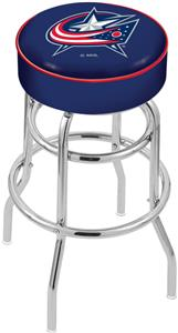 Columbus Blue Jackets NHL Double-Ring Bar Stool