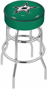 Dallas Stars NHL Double-Ring Bar Stool