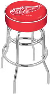 Detroit Red Wings NHL Double-Ring Bar Stool