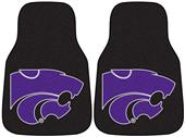 Fan Mats Kansas State Univ Carpet Car Mats (set)