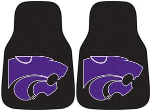 Fan Mats Kansas State University Carpet Car Mats