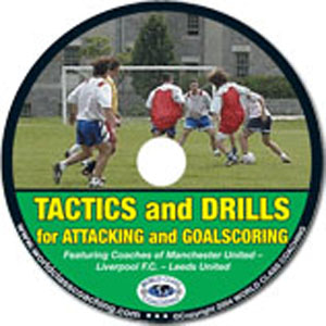 Soccer Attacking & Goalscoring Drills (DVD) videos
