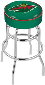 Minnesota Wild NHL Double-Ring Bar Stool