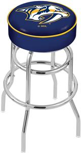 Nashville Predators NHL Double-Ring Bar Stool