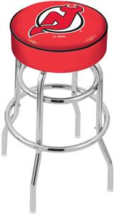 New Jersey Devils NHL Double-Ring Bar Stool