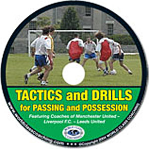 Soccer Passing & Possession Drills (DVD)  videos