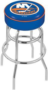 New York Islanders NHL Double-Ring Bar Stool