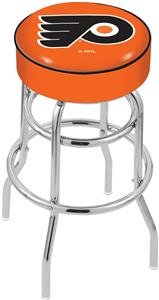 Philadelphia Flyers Orgn NHL Double-Ring Bar Stool