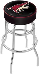 Arizona Coyotes NHL Double-Ring Bar Stool