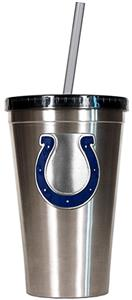 NFL Indianapolis Colts 16oz Tumbler with Straw