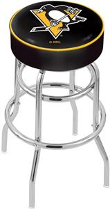 Pittsburgh Penguins NHL Double-Ring Bar Stool