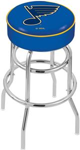 St Louis Blues NHL Double-Ring Bar Stool