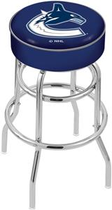Vancouver Canucks NHL Double-Ring Bar Stool