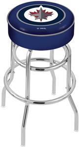 Winnipeg Jets NHL Double-Ring Bar Stool