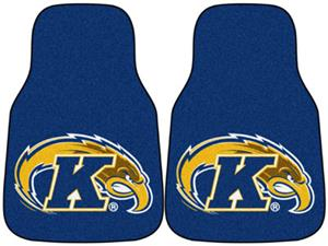 Fan Mats Kent State Univ Carpet Car Mats (set)