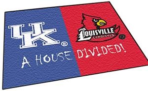Fan Mats Kentucky/Louisville House Divided Mat