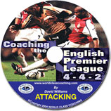 Coaching English Premier-Attacking (DVD) videos