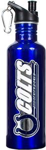 NFL Indianapolis Colts Blue Stainless Water Bottle