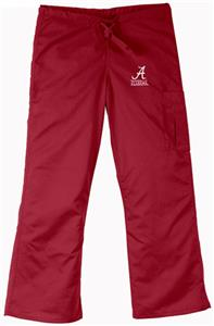 University of Alabama Crimson Cargo Scrub Pants