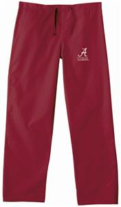 University of Alabama Crimson Classic Scrub Pants