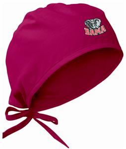 Univ of Alabama Elephant Crimson Surgical Caps