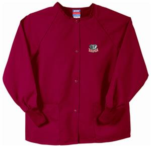 Univ of Alabama Elephant Crimson Nursing Jackets