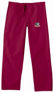 Univ of Alabama Elephant Crimson Scrub Pants