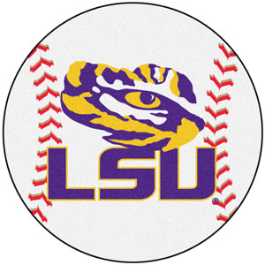 Fan Mats Louisiana State University Baseball Mat