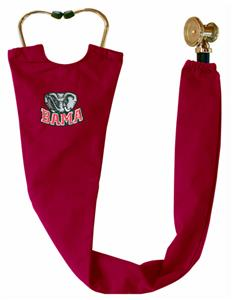 Univ of Alabama Elephant Crimson Stethoscope Cover