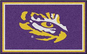 Fan Mats Louisiana State University 4x6 Rug