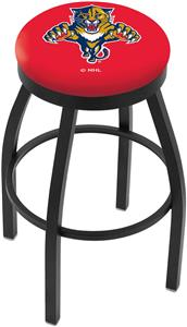 Florida Panthers NHL Flat Ring Blk Bar Stool