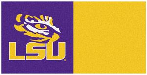 Fan Mats Louisiana State University Carpet Tiles