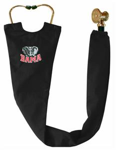 Univ of Alabama Elephant Black Stethoscope Covers