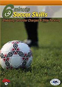 Soccer Shielding, Charges & Slide Tackling (DVD)