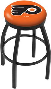Philadelphia Flyer Orn NHL Flat Ring Blk Bar Stool