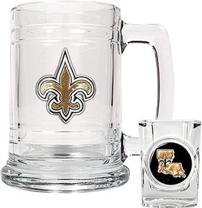 NFL New Orleans Saints Boilermaker Gift Set